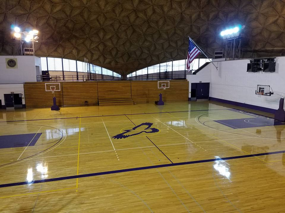 The Center Court. Elmira College, Murray Athletic Center, The Domes. Home of the Twin Tiers Martial Arts Championship