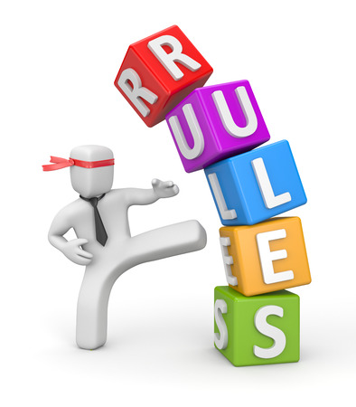 Rules and Divisions. Copyright: pixelery / 123RF Stock Photo